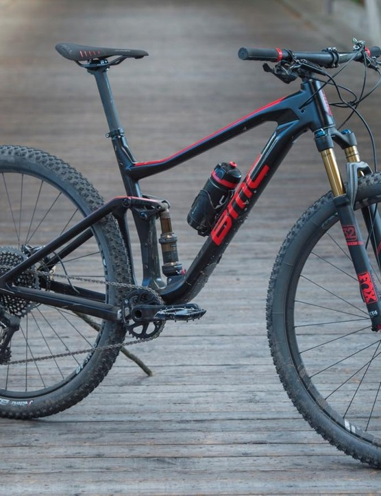 BMC's new Agonist is a 110mm travel XC/marathon bike. It's fast, light and efficient, but stick a dropper on it and it could be stretched to trail bike duties