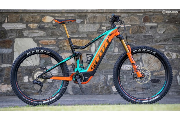 The Scott Genius eRIDE offers excellent handling in an electrified package
