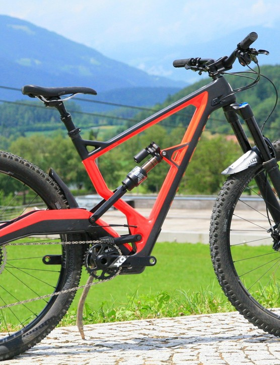 The bike everyone wants to sling a leg over: the Marin Wolf Ridge, with its fancy Naild R3ACT suspension system
