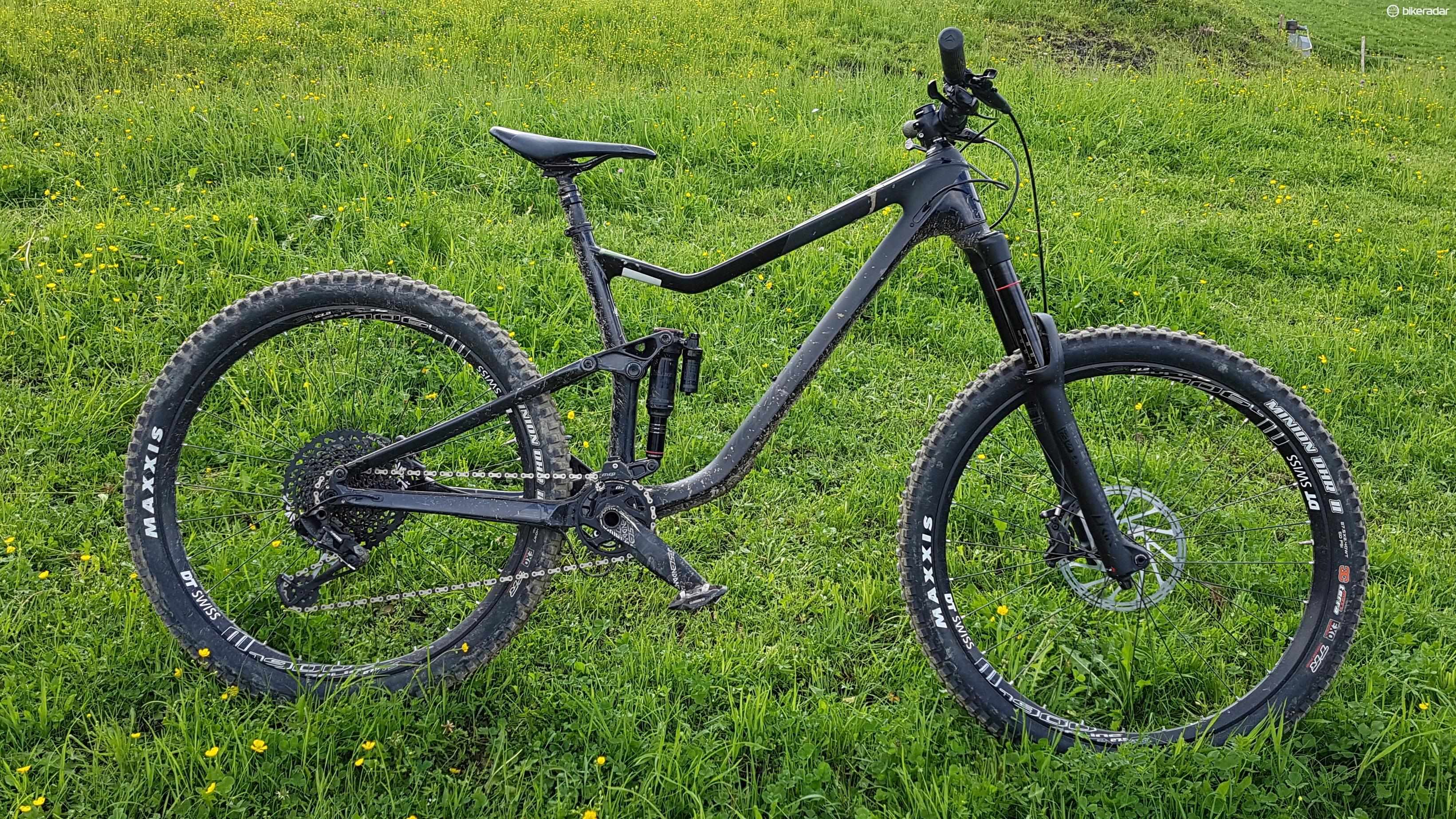 The Merida One Sixty is an intriguing enduro bike