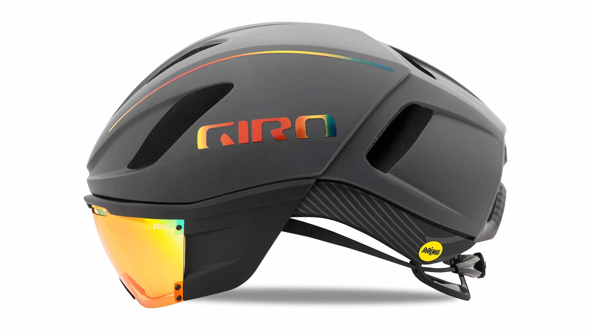 The Giro Vanquish has a magnetic Zeiss shield, integrated MIPS and ventilation that is far superior to the Air Attack that it replaces