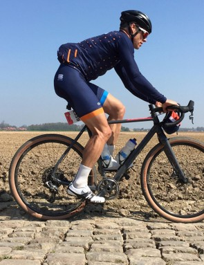 You call it cheating, I call it sensible -- I rode a Mason Bokeh with 47c tubeless WTBs for Holy Week in Belgium and France