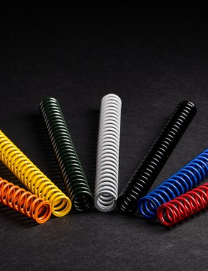 Push offers seven spring weights in 5lb increments to dial in the ride