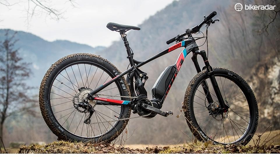 The Wilier 803TRB is the Italian brand's new trail e-MTB