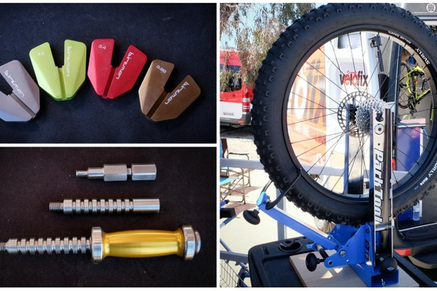 Professional and amateur mechanics rejoice! There were plenty of cool tools on display at Sea Otter this year