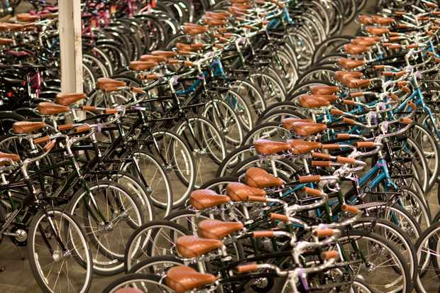 The Freewheelin bike fleet in Denver