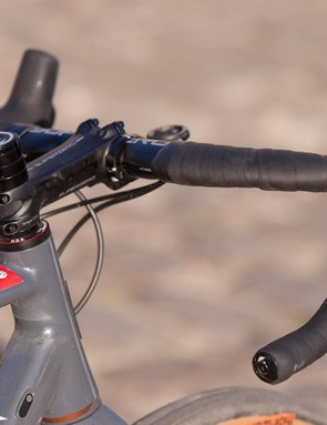 Funny name, but great application for rough-road riding: Superaero handlebars