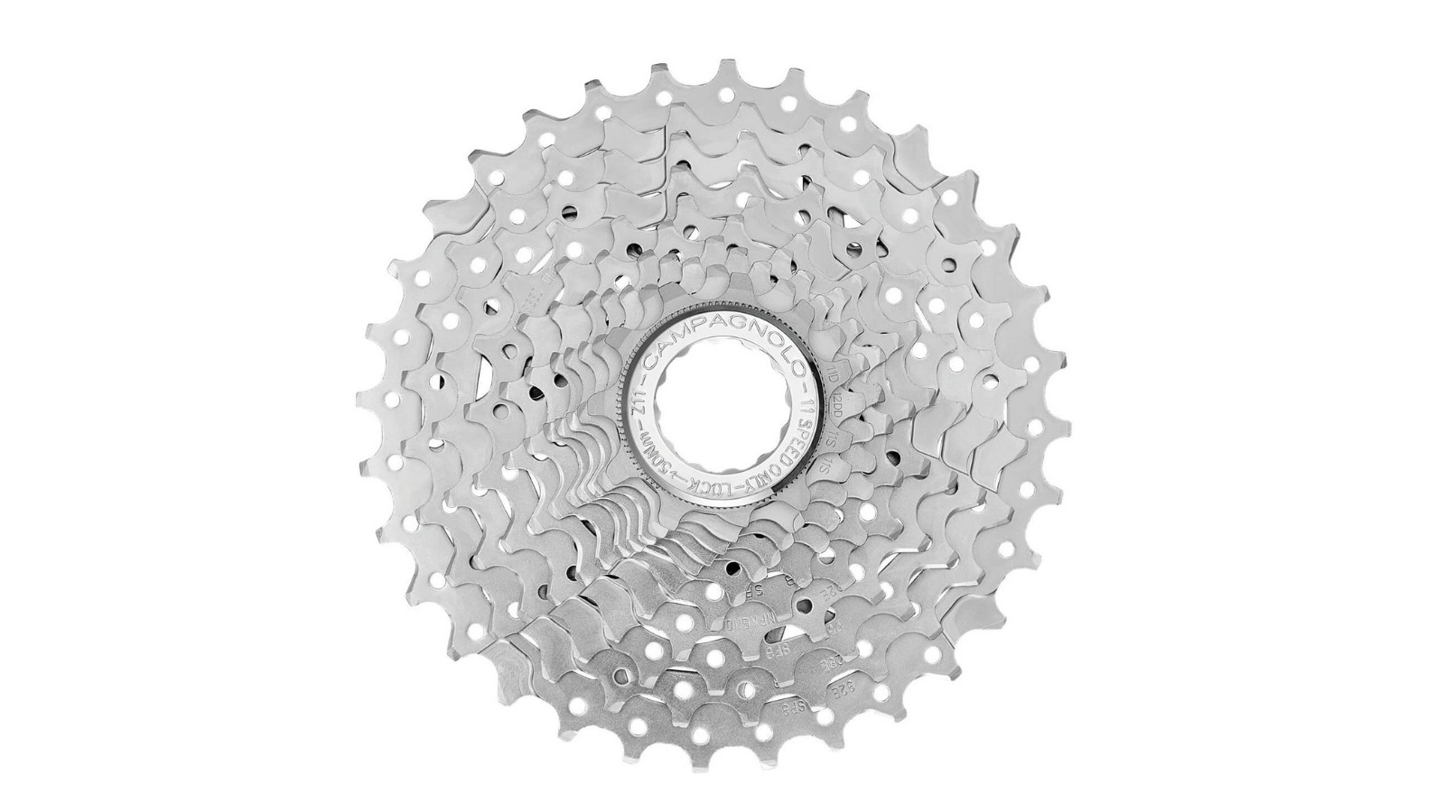 The 11spd cassette comes in size 11-32t
