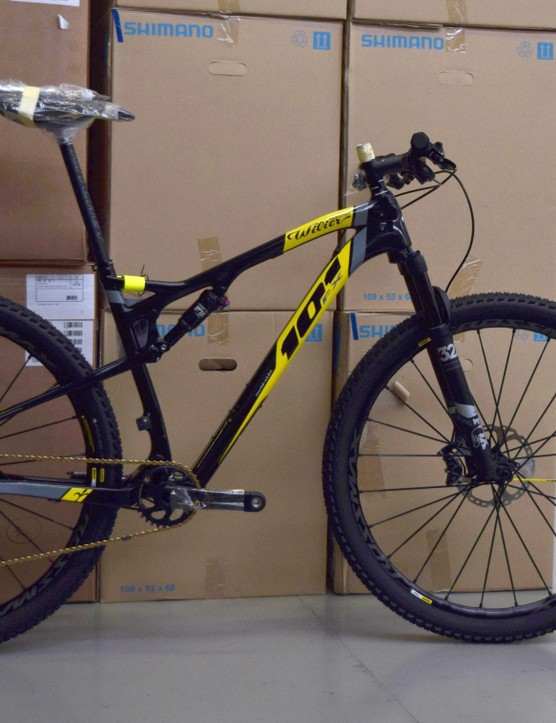 The 101 FX is their top-line XC race bike