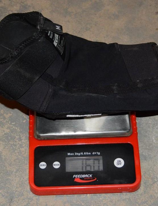 160 grams for each Bear Light pad