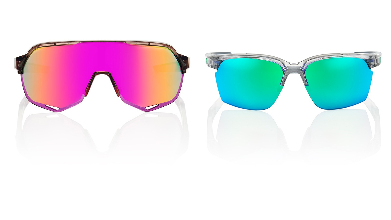 100% will begin selling the S2 and Sportcoupe glasses in May