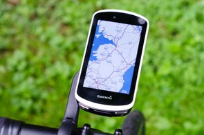 The Garmin Edge 1030 is huge in terms of performance, features, size... and price