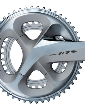 If black isn't your thing, remember that Shimano offers 105 in a silver finish