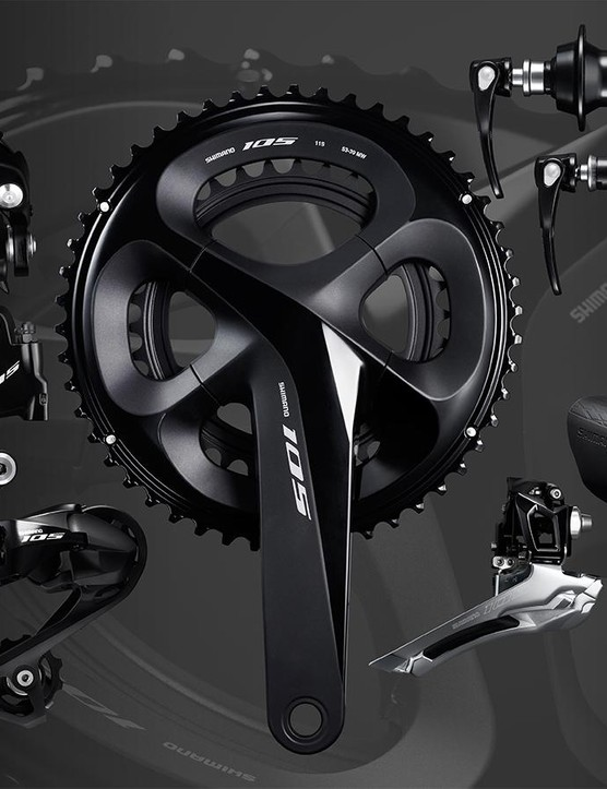 Shimano's 105 R7000 group is a leap forward from the R5800 series.