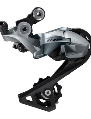 The rear derailleur is offered in short and medium cage versions