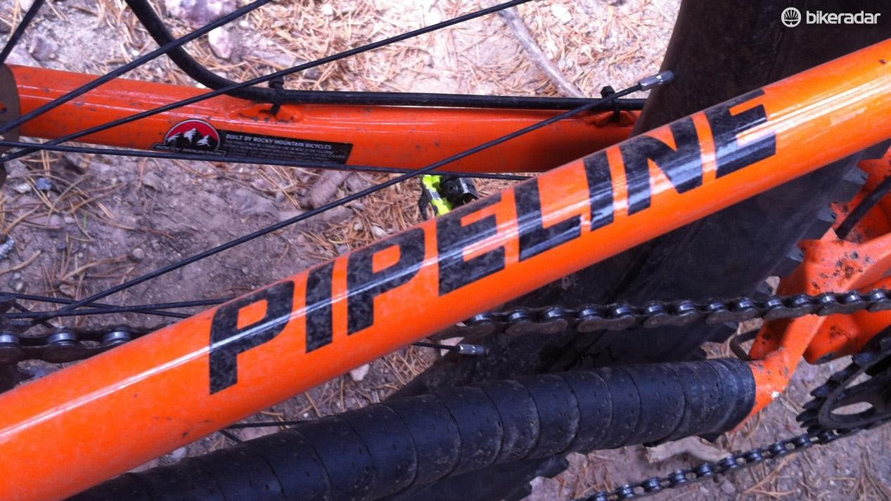 The Pipeline moniker is legendary in some circles, so far this bike lives up to the Rocky Mountain classic name