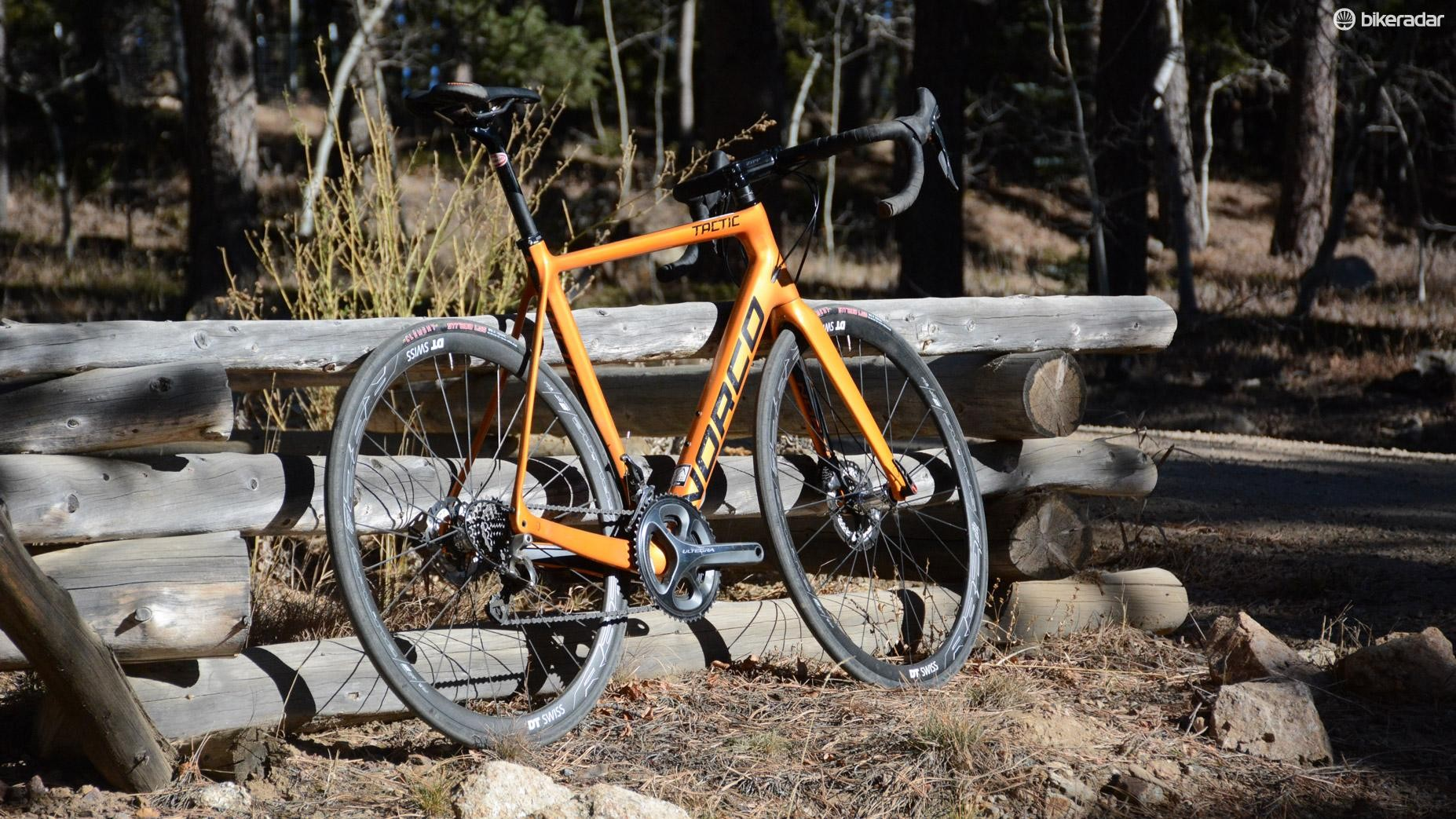 "One of my first ""real"" bikes was the same orange color. Just like that one, I'll be sad when this one is gone"