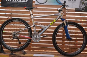 GT was showing an RTS-1, one of the first full-suspension bikes