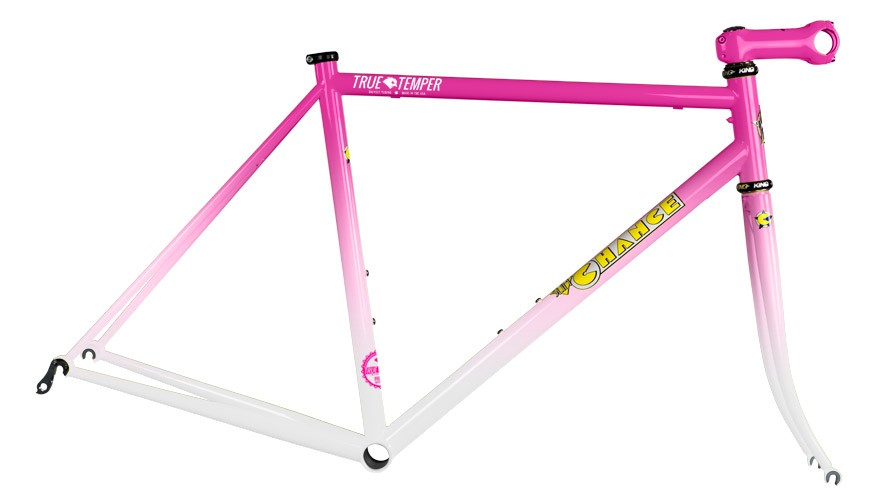 Just like back in the day, you have to be fast to roll this Pink/White fade