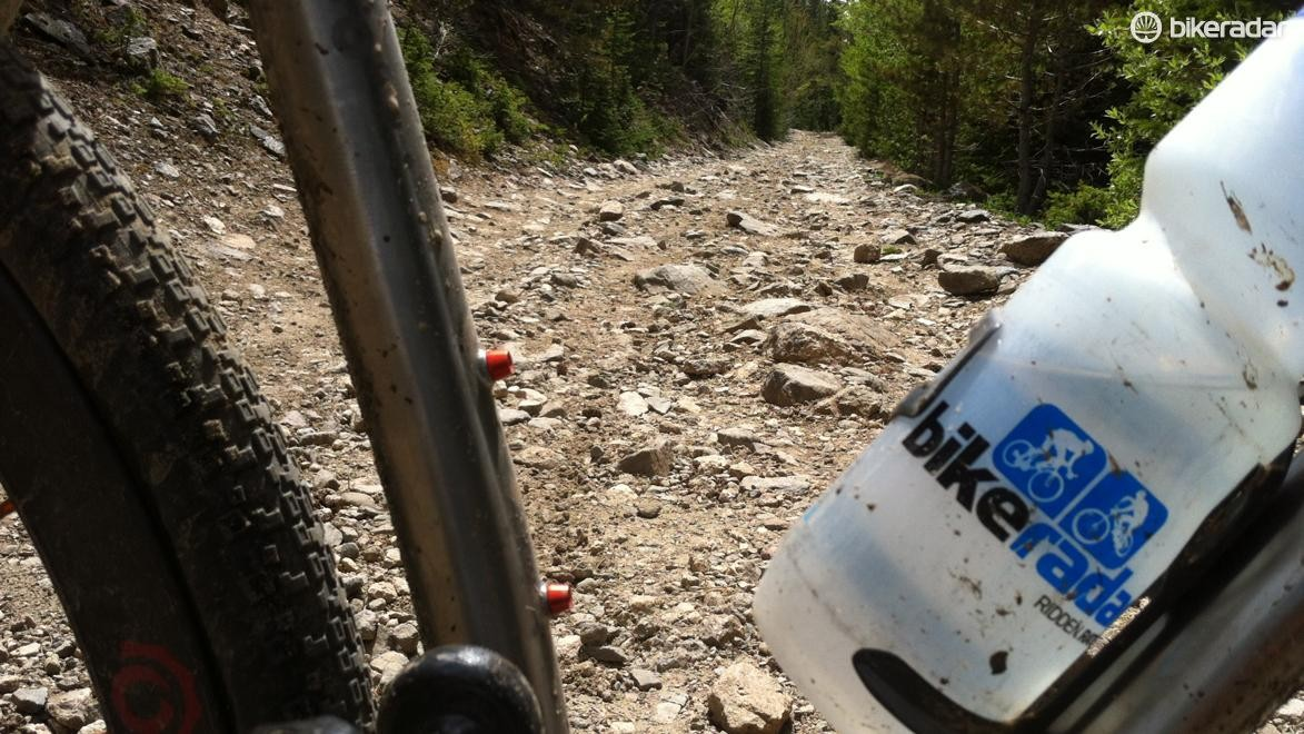 Limits were tested on the R+, from smooth gravel hardpack, to singletrack, to long forgotten forest roads above 2,800 meters