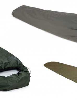 A bivvy bag keeps your sleeping bag dry and lets you camp outside without a tent
