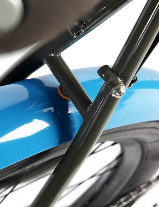 What we want to know is where we can get these groovy, blue mudguards from?