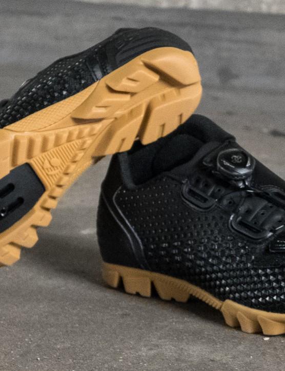 The Bontrager Rhythm shoe is designed for enduro racing and hardcore singletrack shredding