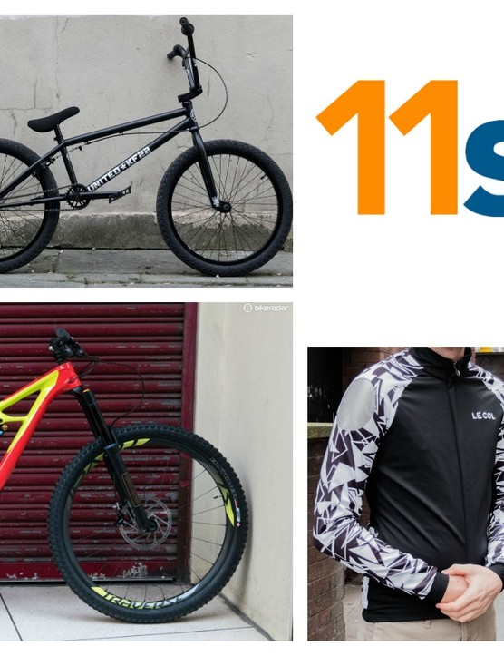 We bring you the hottest road, mountain bike and BMX gear in this week's 11spd
