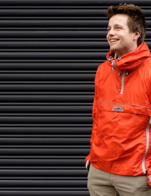 New-ish boy, Jack is very pleased with this orange number from Paramo