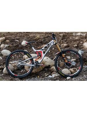 The same bike as this took Minnaar to the win this weekend