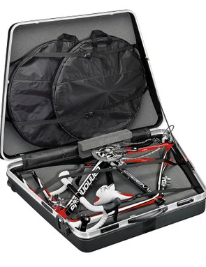 The B&W is a budget hard case — it will only fit a road bike though