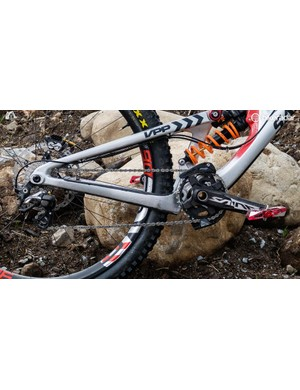 The current generation of the Saint drivetrain is one the most longstanding in the downhill circuit