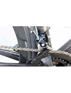 The new Record front derailleur