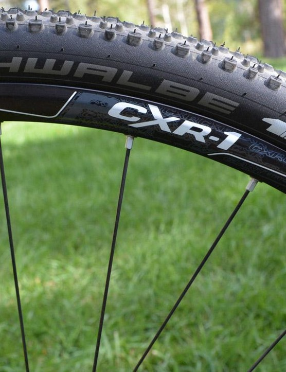 The CXR 1 wheels are wide and tubeless ready out of the box