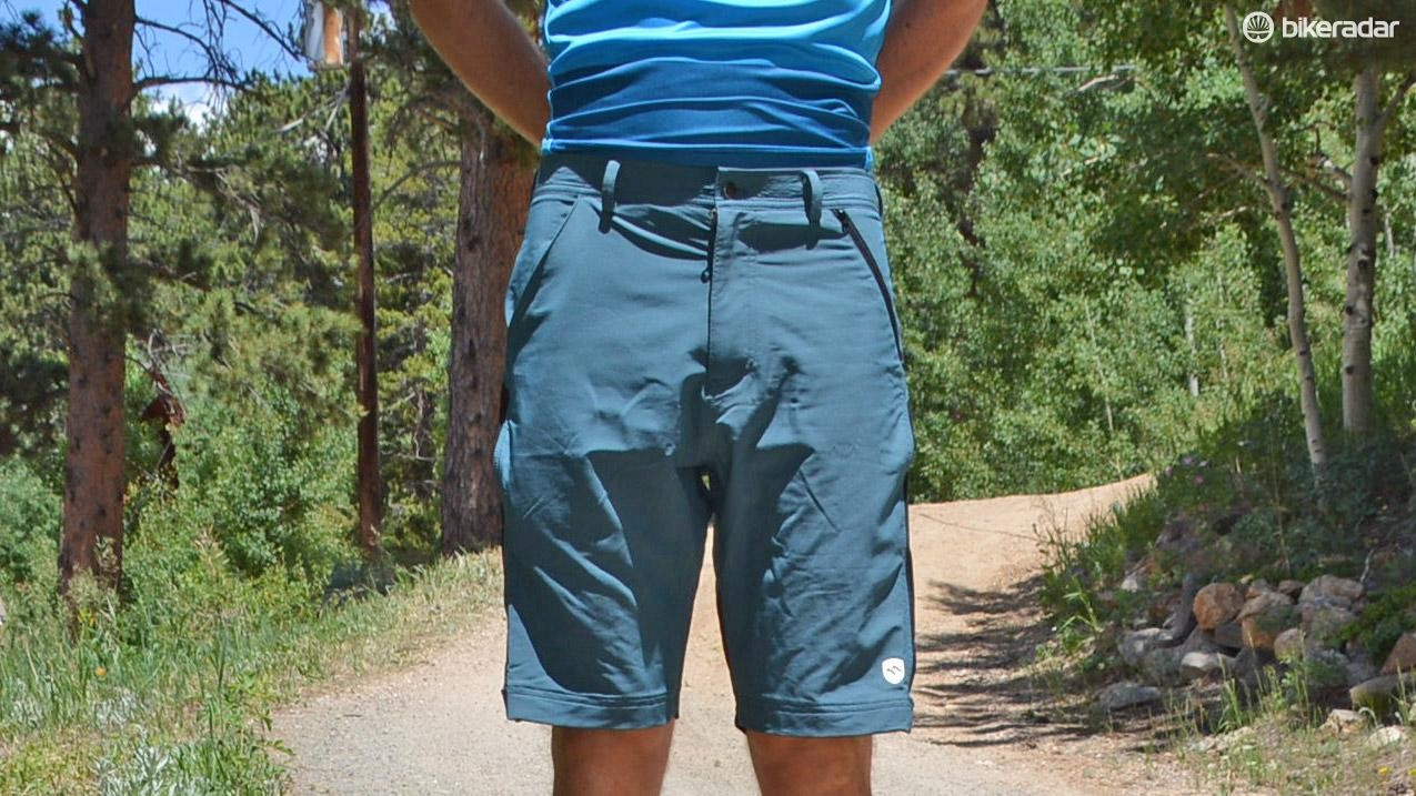The Crankitup shorts look like regular MTB shorts, even just casual shorts