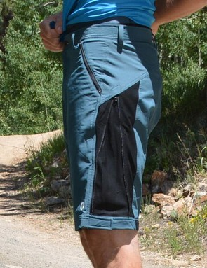Their secret is on the side however, with a zipper on both thighs that takes them from bagggy to tight
