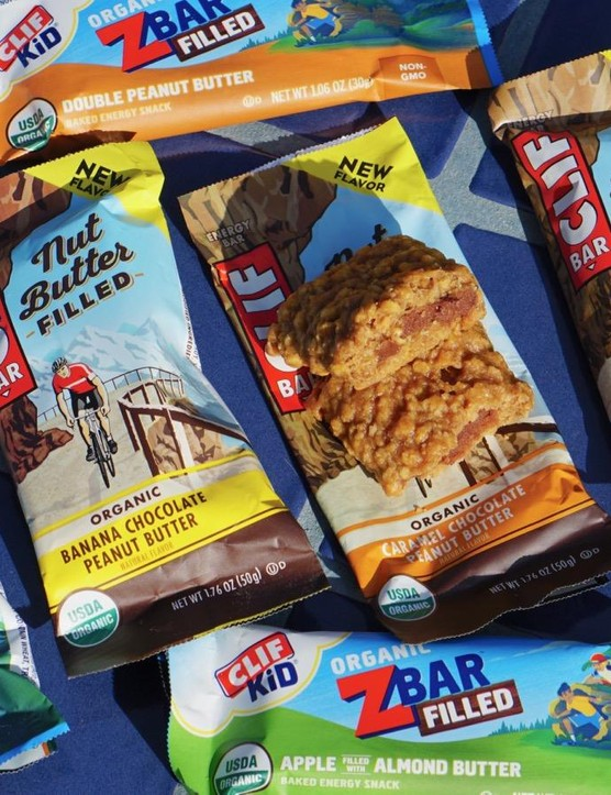 Clif has new flavors of the Nut Butter Filled bars, plus new ZBar Filled options for kids