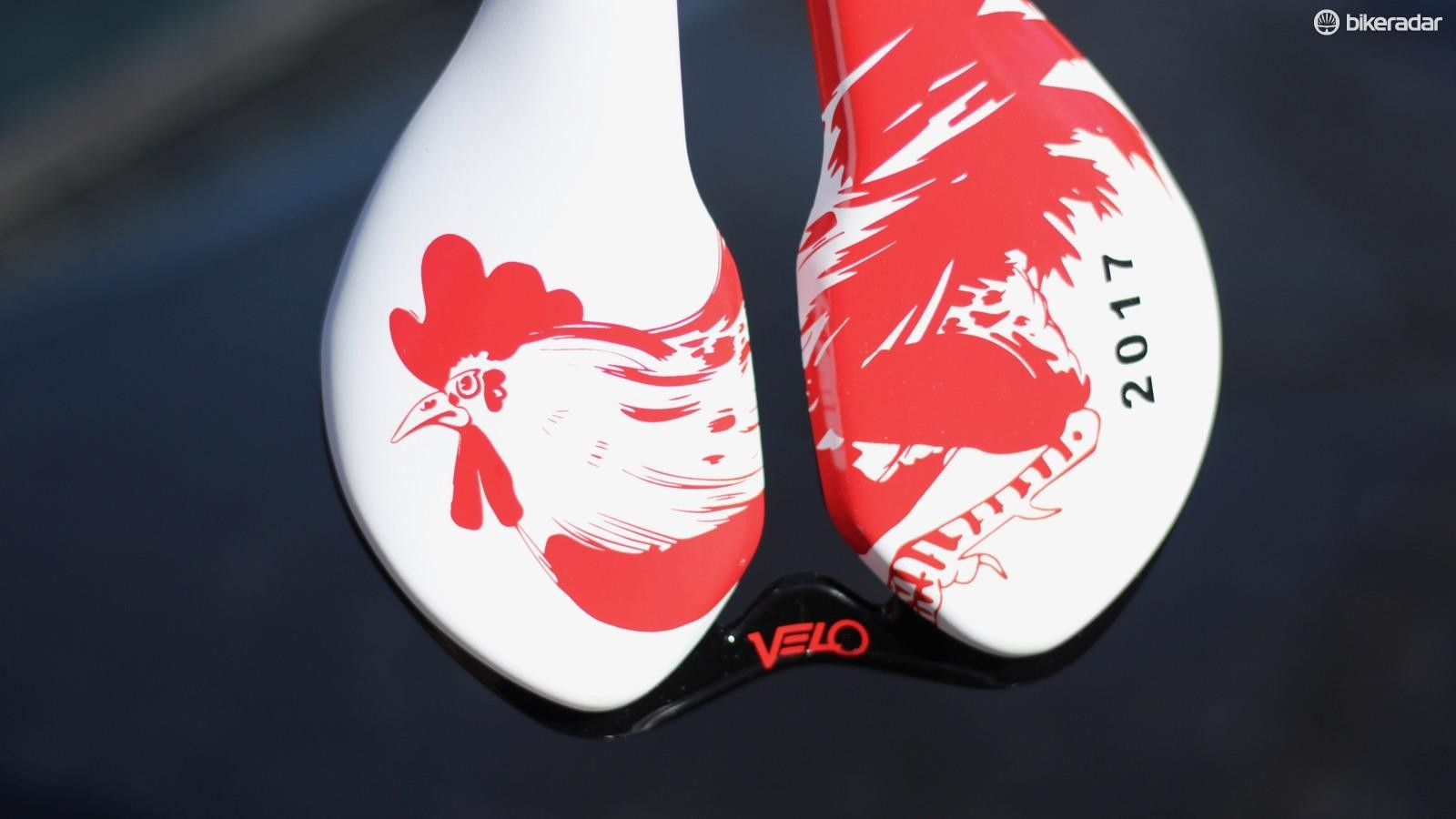 Velo who? Velo Saddles is the largest high-end saddle manufacturer and the Taiwanese company makes perches for many big saddle brands