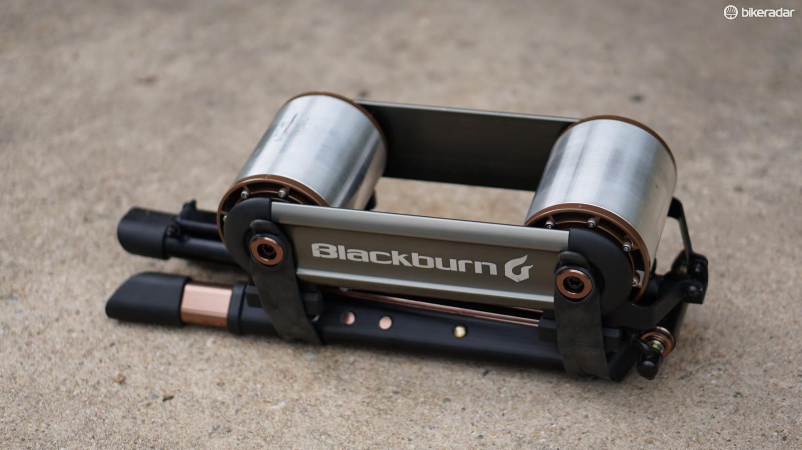 Blackburn's Raceday Fluid is a portable trainer