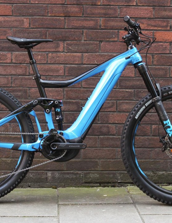 The Trance is still a looker in e-MTB form
