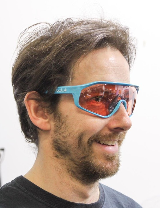 Bolle's Shifter glasses are straight from the pro peloton