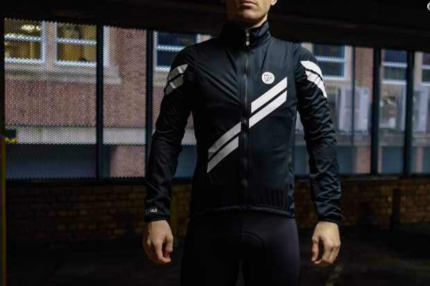 Attaquer's All Day Arrow Stripe rain jacket
