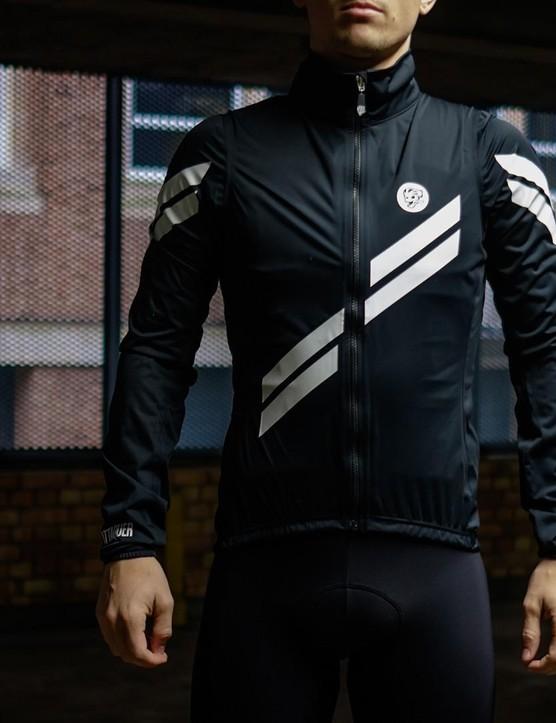 Attaquer's All Day Arrow Stripe rain jacket