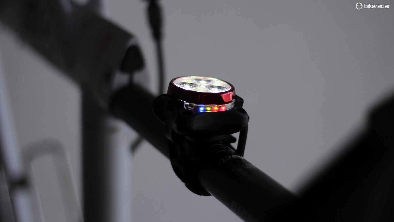 The rear Zectro Drive goes up to 20 lumens with five different light patterns