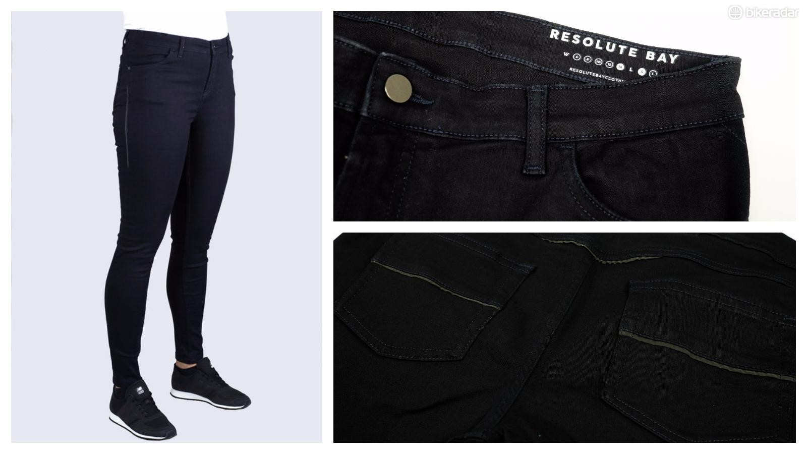 Resolute Bay's jeans are designed to look good off the bike and work well on it