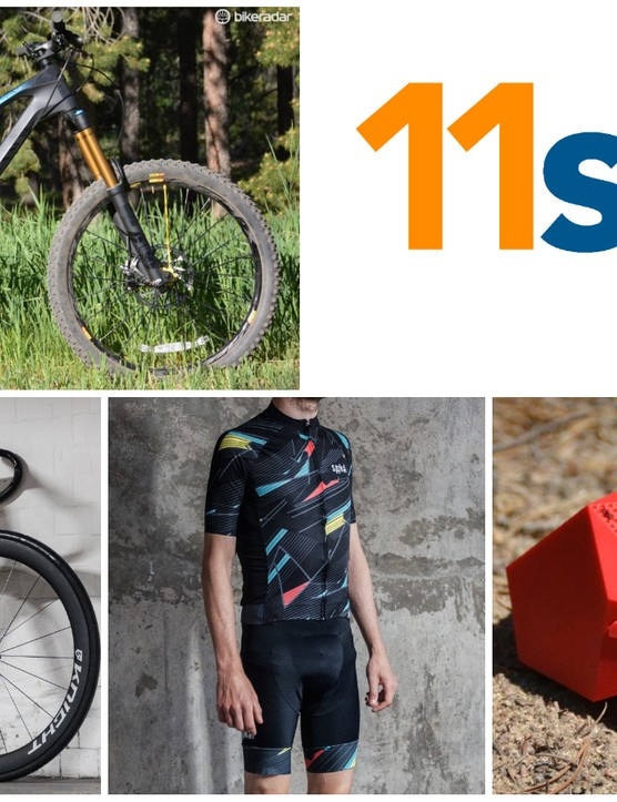 11spd! Your weekly roundup of the swaggiest swag to land at BikeRadar HQ this week