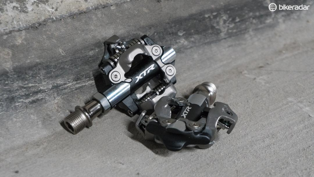 Shimano's new XTR XC pedals make some improvements over the old model