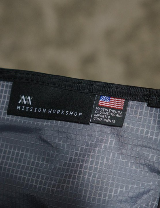 Mission Workshop makes its products in the USA and offers a lifetime guarantee