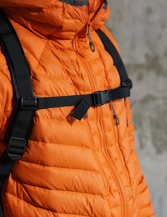 An additional traditional rucksack strap can also be purchased