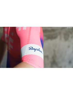 The jersey features the iconic arm band design from the British brand